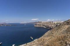 Santorini, Grecja Fotografia Royalty Free