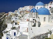 Santorini Grecja - Zdjęcia Royalty Free
