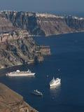 Santorini Grecja - Zdjęcia Stock