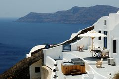 Santorini Grecja Zdjęcie Stock