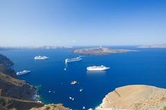 Santorini, Greece royalty free stock photos