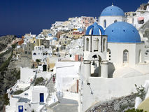 Santorini - Greece Royalty Free Stock Photos