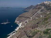 Santorini - Greece Royalty Free Stock Photography