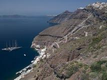 Santorini - Greece Royalty Free Stock Photography