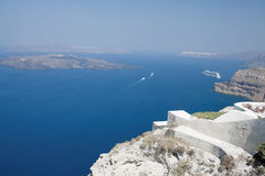 Santorini Greece Stock Photography