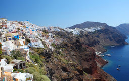 Santorini in Greece Royalty Free Stock Photo