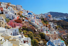 Santorini in Greece Stock Images