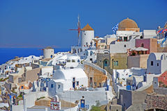 Santorini in Greece Royalty Free Stock Image