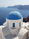 Santorini in Greece Royalty Free Stock Photography