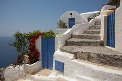 Santorini Greece imagens de stock