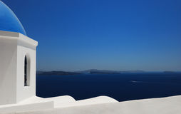 santorini greece Obrazy Royalty Free