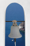 Santorini Greece Bell Stock Photo