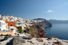 Santorini, Greece Royalty Free Stock Images