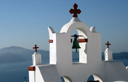 Santorini Greece, church Royalty Free Stock Photography
