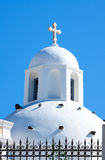 Santorini, Greece. Cupolas from Santorini, Greece, europa Royalty Free Stock Image