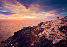 Santorini,Greece Stock Images