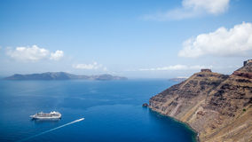 Santorini Greece Stock Photo