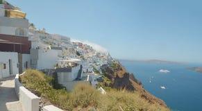 Santorini greece. Island aegean- volcano Stock Photography