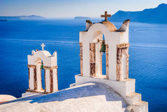 Santorini, Greece - Oia village Royalty Free Stock Images