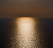 In santorini    greece  and the sky mediterranean red sea Stock Image