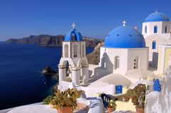 Santorini,Greek Island Royalty Free Stock Photos