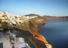 Santorini Greek Islands Stock Photography