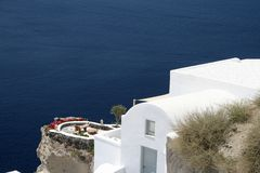 Santorini - Greek summer Stock Image