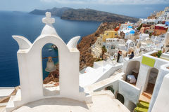 Santorini Grekland Arkivbild