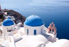Santorini, Griechenland Stockbild