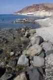 Santorini - Griechenland Stockfoto