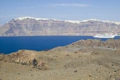 Santorini - Griechenland Stockfotos