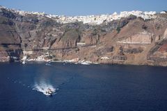 Santorini Griechenland Lizenzfreie Stockfotografie