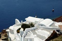 Santorini Griechenland Stockfotografie