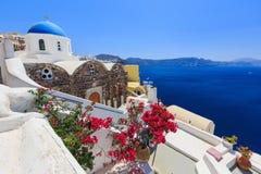 Santorini, Griechenland stockbilder