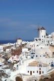 Santorini Griechenland stockfotos