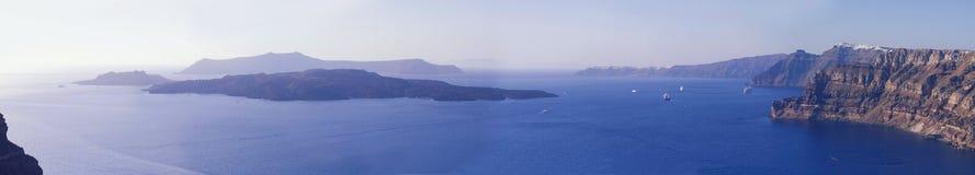 Santorini, Griechenland Stockfotos