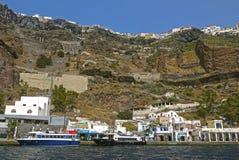 Santorini, Griechenland Stockfotografie