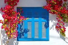 Santorini in Griechenland Stockfotos