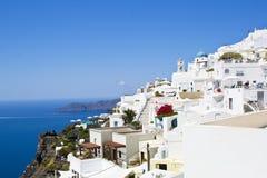 Santorini - Griechenland, Europa Lizenzfreies Stockbild