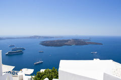 Santorini - Griechenland, Europa Lizenzfreie Stockbilder