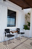 Santorini, Griechenland, im Juli 2013 Lizenzfreie Stockfotos