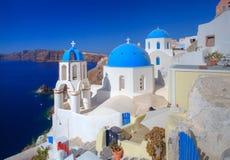 Santorini in Griekenland Royalty-vrije Stock Foto's