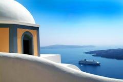Santorini Griekenland Royalty-vrije Stock Afbeelding