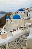 Santorini, Griekenland Royalty-vrije Stock Afbeeldingen