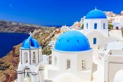 Santorini, Griekenland stock fotografie