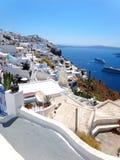 Santorini Griekenland Stock Afbeelding