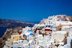 Santorini, Griekenland, Juli 2013 stock foto