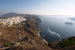 Santorini, Griekenland, Thira royalty-vrije stock afbeelding