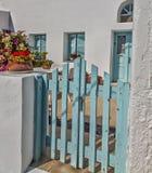 Santorini Haus Lizenzfreies Stockfoto