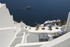 Santorini hermoso Imágenes de archivo libres de regalías